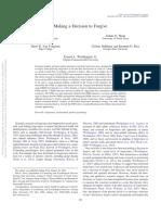 Davis Et Al. 2015 JCP Decision to Forgive
