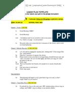 vmrc lesson plan 1