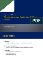 02 Planejamento de Projeto de Software - Requisitos