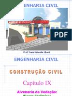 9. Cap. IX - Alvenaria de Vedacao - Blocos Ceramicos.
