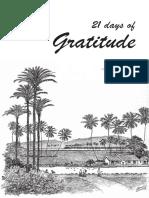 21-Day Gratitude Journal (Aravind format)