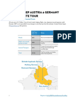 2018 ISEP Austria and Germany Site Tour - Registration Guide