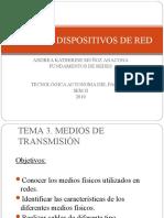 Medios y Dispositivos de Red