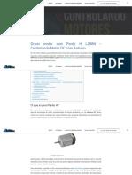 Driver Motor Com Ponte H L298n _Controlando Motor DC _ Portal VDS