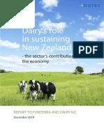NZIER Dairy Report