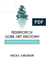Ashok Gangadean - MEDITATIONS on global first philosophy.pdf