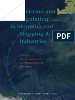 Competition and Regulation in Shipping and Shipping Related Industries