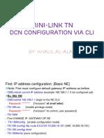 Dcn Configuration via Cli