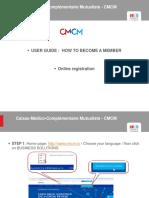 CMCM_On-line Registration Guidelines