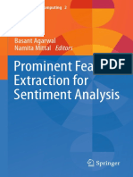 [Socio-Affective Computing] Basant Agarwal, Namita Mittal (Auth.) - Prominent Feature Extraction for Sentiment Analysis (2016, Springer International Publishing)