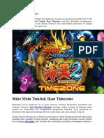 Situs Main Tembak Ikan Timezone