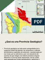 2 Provincias Geológicas
