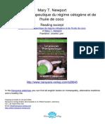 Le Pouvoir Therapeutique Du Regime Cetogene Et de l Huile de Coco Mary T Newport.20645 1Sommaire Et Extraits