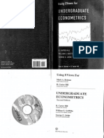Econometrics Eviews