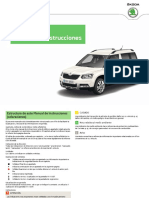 Manual Usuario Skoda Yeti