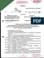 Protocol declasificat