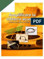 Guida All'Amplificazione Della Chitarra Acustica
