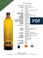 Ficha Tecnica Calvente Guindalera 2012