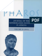 Voutsaki et al 2004 Pharos XI MH Argolid Project report 2003
