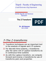 EE302 the Z-Transform