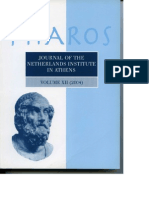 Voutsaki et al 2005 Pharos XII MH Argolid Project report 2004