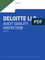 FRC Deloitte AQ Report