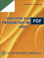 Statistik Daerah Kecamatan Sendang 2016