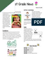 first grade news 28