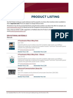 Toastmasters International Product Catalogue