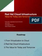 Openstack Summit 2013 Jerry Redhat Cloud Infrastructure