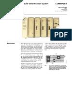 Abb COMBIFLEX 1MRK514005-BEN a en Modular Identification Systems COMBIFLEX