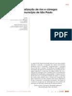 Renaturalização de Rios e Córregos Do Município de São Paulo