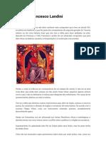 Vida de Francesco Landini | Cultura d'oiro