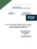 Fernandez Flamarra - Los Sistemas de Evaluación y Acreditación de La Calidad