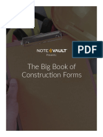 NoteVault eBook Series - The Big Book of Construction Forms