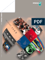 Petronas Annual Report 2003 - Editorial
