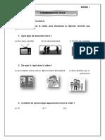 COMPRÉHENSION Oral Unidad 1 Jochua y Fer