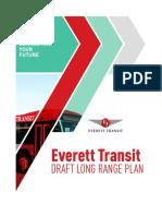 Everett Transit Draft Long-Range Plan