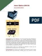 Sensor Óptico CNY70