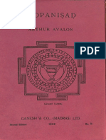 Isha Upanishad Arthur Avalon 1952 - Ganesh and Co.pdf