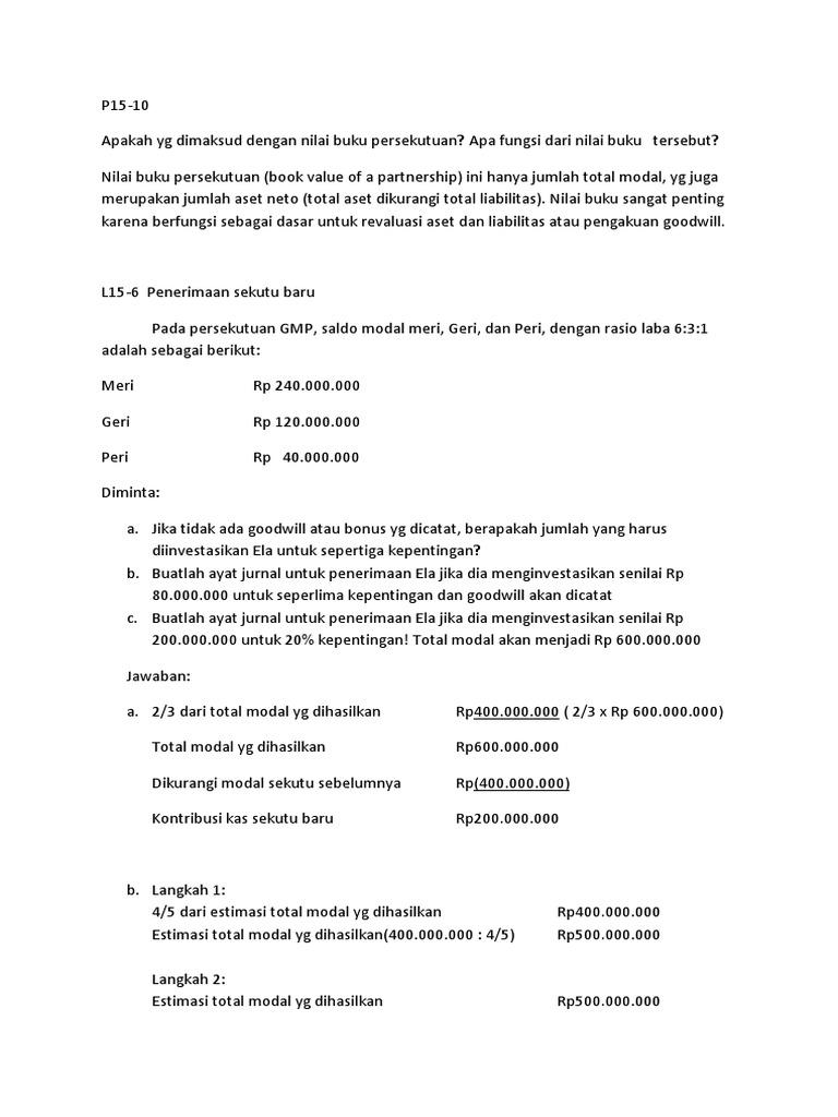 Kumpulan Soal Sertifikasi Business Process Invoice