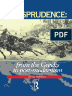 1.2. Wayne Morrison - Jurisprudence - Greeks Post-Modernity