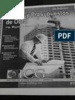 Costos y Presupuestos Icg