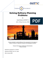 Solving Refinery-Planning Problems