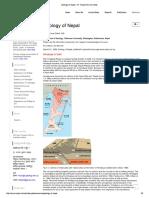 Geology of Nepal - Dr. Ranjan Kumar Dahal