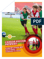 Canada Soccer Pathway Coachs Tool Kit 3