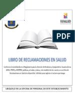 Aviso Libro de Reclamaciones en Salud