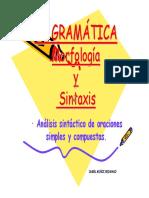 Sintaxis I Bachillerato