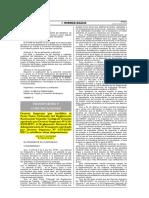 D.S. N°025-2014-MTC_Modifica Reglam,, Código de Tránsito y otros