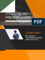 Template Presentacion Power Point